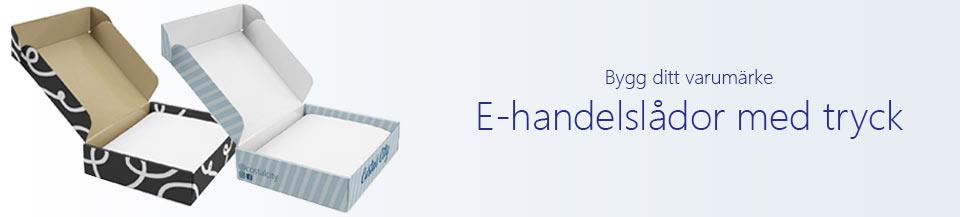 e-handelslåda med tryck
