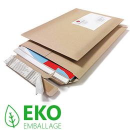 miljövänligt emballage pappkuvert