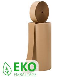 miljövänligt emballage wellpapp på rulle