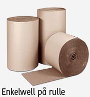 emballage enkelwell på rulle