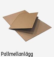 emballage pallmellanlägg