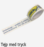 emballage tejp med tryck