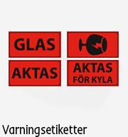 Varningsetiketter