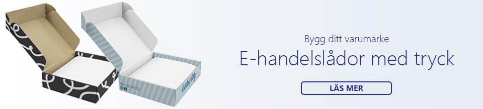 e-handelslådor med tryck
