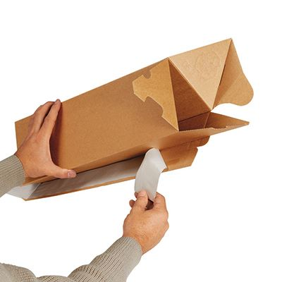 trekantig-papptub