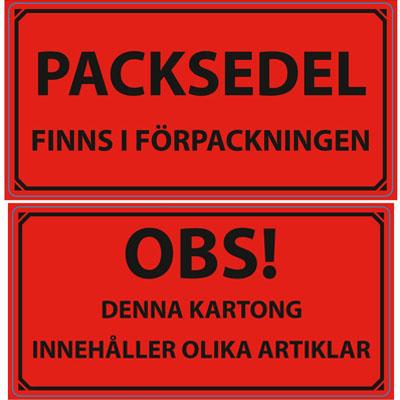 varningsetikett