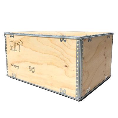 Fräscha Plywoodlåda - Trälåda | 7 storlekar | Utan spik | Davpack.se WS-99