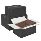 Svarta kartonger
