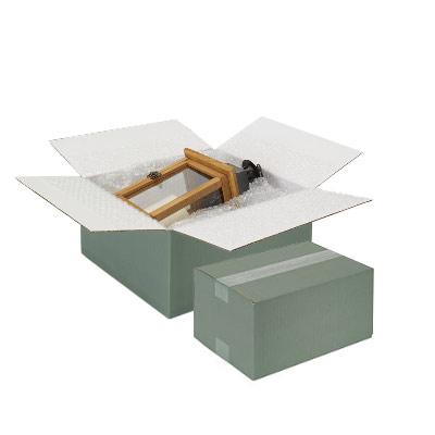 Gröna kartonger