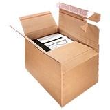 Justerbar låda med snabbotten