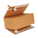 Enkelwell låda med förslutningsremsa