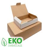 Stansad låda ekonomi brun