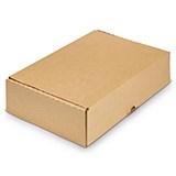 Självlåsande lådor brun
