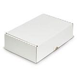 Självlåsande lådor vit