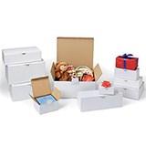 Självlåsande låda vit