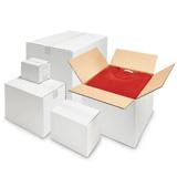 Vita enkelwell lådor