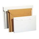 Platt kalenderförpackning vit