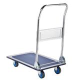 Hopfällbar plattformsvagn, glidskydd